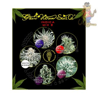 Greenhouse Mix E Indica Seeds