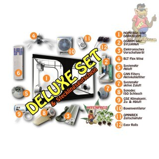 Komplettset Homebox - 80 x 80 x 160cm - DELUXE