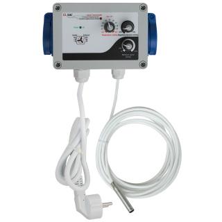 GSE Klimakontroller Temperatur Zu- Abluft (2fan) 10A