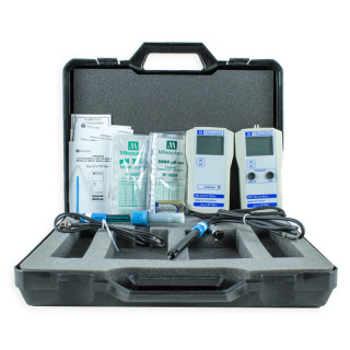 Milwaukee PH & EC Meter mit Koffer MW100-MW302