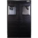 plantaROOM Pro 120 - 120x120x200cm schwarz/weiß