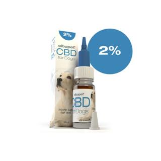 CBD Öl für Hunde 2%