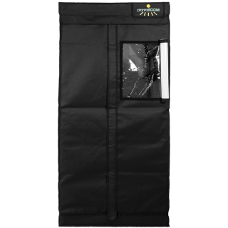 Growzelt Komplettset - Advanced Black HPS - 80 x 80 x 175cm