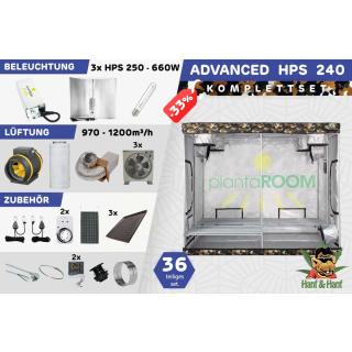 Growbox set 240x240