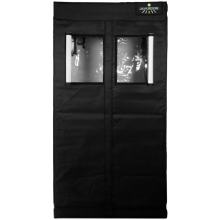 Advanced Black LED Komplettset - 100 x 100 x 200cm