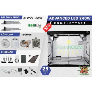 Growbox led 240W