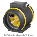Growzelt Komplettset - Advanced Black LED - 240 x 240 x 200cm