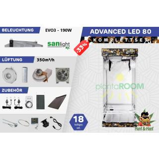 Growbox led 80x80