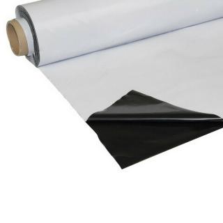 Schwarz-Weiß Folie 2m breit