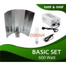 600W HPS Basic Komplettset Osram