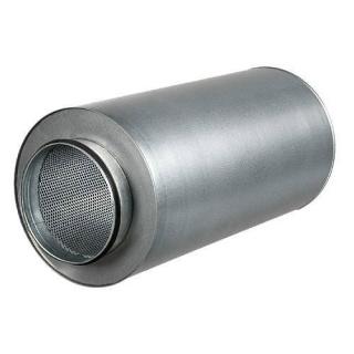 Rohrschalldämpfer 125mm 50cm