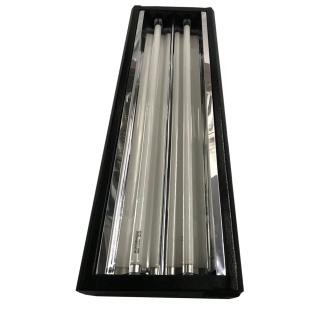 Anzuchtlampe T5 2x24 Watt 6400K steckfertig