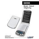 Digitalwaage Detroit 100g -0,01g 08598