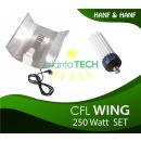 CFL Wing Set - 250 Watt - Blüte